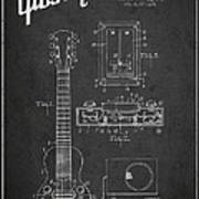 Hart Gibson Electrical Musical Instrument Patent Drawing From 19 Art Print
