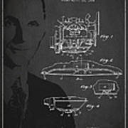Henry Ford Engine Patent Drawing From 1928 Art Print by Aged Pixel