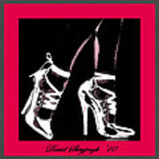 High Heels Art Print by David Skrypnyk