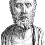 Hippocrates (c460-c377 B.c.) Art Print