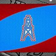 Houston Oilers Art Print