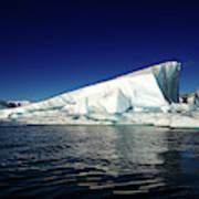 Icebergs-jokulsarlon Glacial Lagoon Art Print