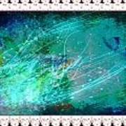 Impressionist Blue Art Print