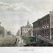 Independence Hall, 1798 Art Print