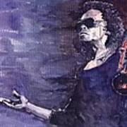 Jazz Miles Davis Art Print