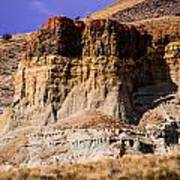 John Day Fossil Beds Nations Monuments Art Print by Shiela Kowing