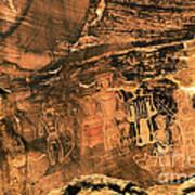 3 Kings Rock Art Art Print