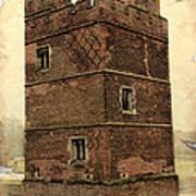 Kirby Muxloe Castle  Art Print