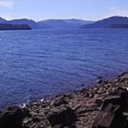 Lakes 2 Art Print