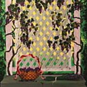 Lambrusco And Lavender Art Print