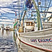 Last Chance - Hdr Art Print