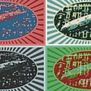 Led Zeppelin Art Print