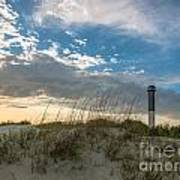 Sc Lighthouse View Art Print