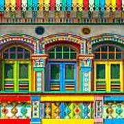 Little India - Singapore Art Print