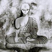 Lotus Position Art Print