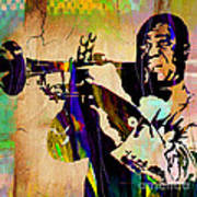 Louis Armstrong Collection Art Print