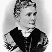 Lucretia Garfield (1832-1918) Art Print