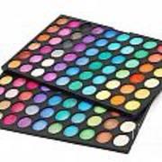 Makeup Color Palette Art Print