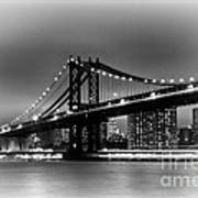 Manhattan Bridge New York City Art Print