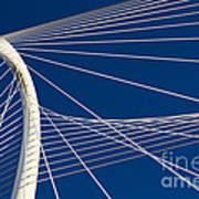 Margaret Hunt Hill Bridge Art Print by Elena Nosyreva
