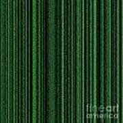 Matrix Green Art Print