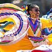 Mexican Folk Dancers Art Print