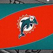 Miami Dolphins Art Print