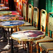 Montmartre Cafe Art Print