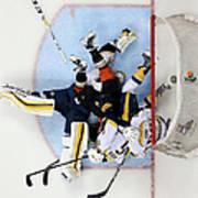Nashville Predators V Anaheim Ducks - Art Print