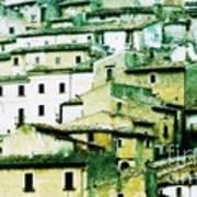 Navelli Village - Abruzzo - Italy Art Print