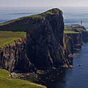 Neist Point Lighthouse Art Print