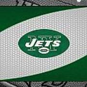New York Jets Art Print by Joe Hamilton