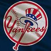 New York Yankees Uniform Art Print
