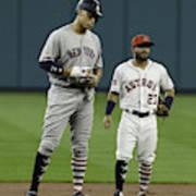 New York Yankees v Houston Astros Art Print