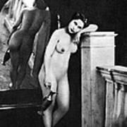 Nude Posing, C1850 Art Print