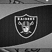 Oakland Raiders Art Print