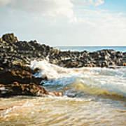 Paako Beach Makena Maui Hawaii Art Print