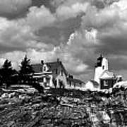 Pemaquid Point Lighthouse Art Print by Skip Willits