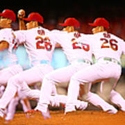 Philadelphia Phillies V St Louis Art Print