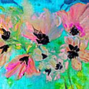Poppies In Situ Art Print