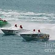 Port Huron Sarnia International Offshore Powerboat Race Art Print