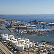 Port Of Tarragona, Catalonia Art Print