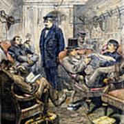Pullman Car, 1876 Art Print