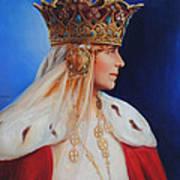 Queen Marie Of Romania Art Print