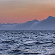 Ragged Coastline Of Faroe Islands Art Print