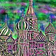 Rainbow Temple Art Print
