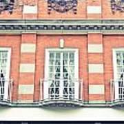 Red Brick Building Art Print