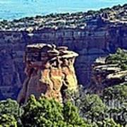 Rim Rock Colorado Art Print