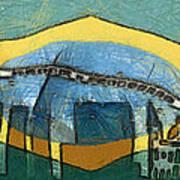 Rio De Janeiro Skyline Art Print