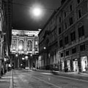 Roma By Night Art Print